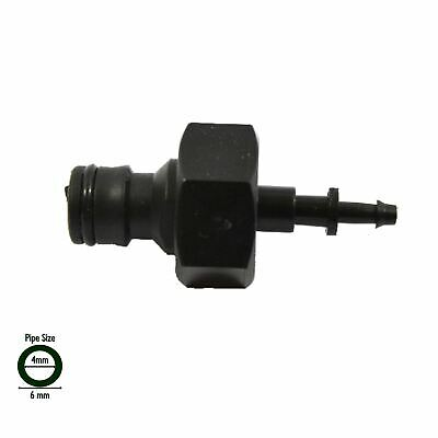 £5.95 • Buy 4mm Micro Irrigation Pipe To Garden Hose Quick Connect Adaptor: Hozelock