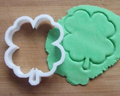 £3.65 • Buy Four Leaf Clover Shamrock Shape Cookie Cutter Biscuit Pastry Fondant Stencil NA1
