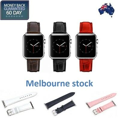 AU15.99 • Buy Crocodile Style Apple Watch Strap Band For Apple Watch Series 1/2/3/4/5