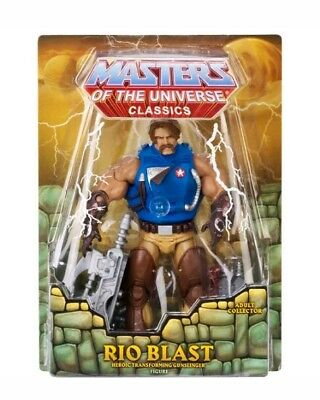 $39.99 • Buy MASTERS OF THE UNIVERSE Classics RIO BLAST Figure Exclusive Limited Edition NEW