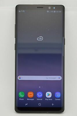 $ CDN448.10 • Buy Certified Pre Owned Samsung Galaxy Note 8 SM-N950U1 64GB Black GSM CDMA UNLOCKED