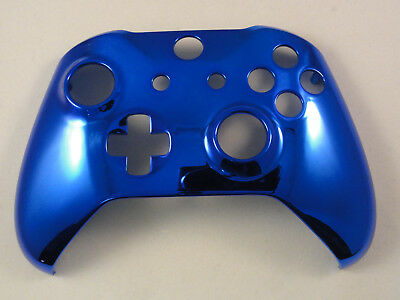 $14.99 • Buy Chrome Blue Front Shell For Xbox One S Controller - New - Model 1708