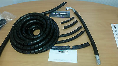 £18 • Buy Hydraulic Hose Guard / Cable Protection / Spiral Wrap - Various Sizes