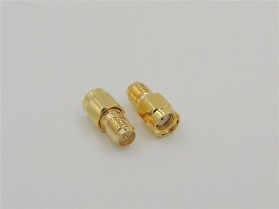 £2.19 • Buy RP SMA Male To RP SMA  Female 50Ω Adapter Connector - UK Seller