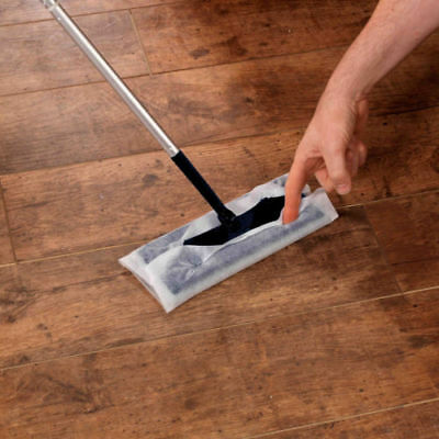 £9.99 • Buy SupaHome Electrostatic Floor Cleaning Mop, Cleaner, Duster With 10 Free Wipes