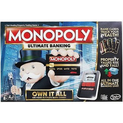 $32.55 • Buy Monopoly Game: Ultimate Banking Edition Electronic Game Board New