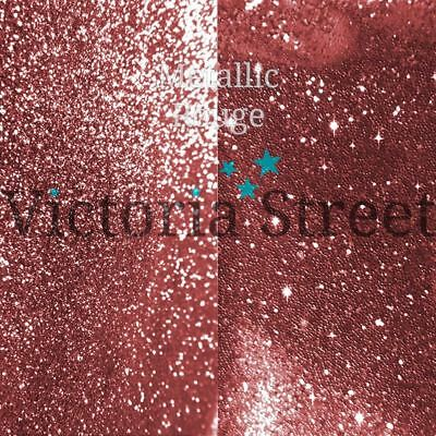 Victoria Street Glitter - Metallic Rouge - Fine 0.008  / 0.2mm (Rose Gold Pink) • 3.19£