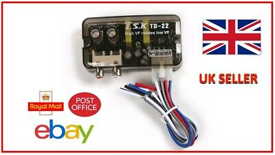 High To Low Level RCA Line Output Converter Inc Auto Remote Turn On, New Model • 12.99£