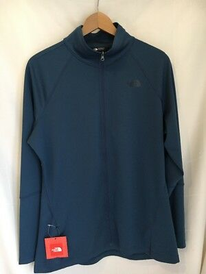 £32.57 • Buy The North Face Women's XL Full Zip Mountain Sports Flash Dry Shady Blue Shirt