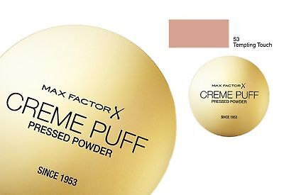 Max Factor Creme Puff Compact Powder  53 TEMPTING TOUCH • 5.25£