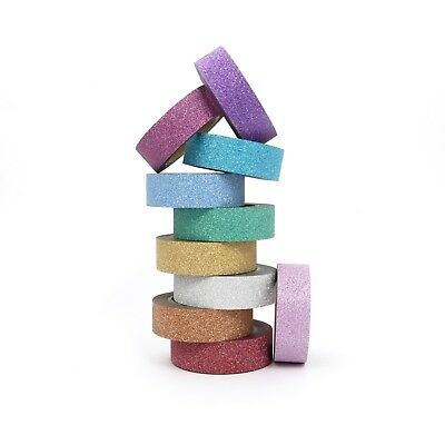 AU5 • Buy Glitter Tape Multi-Coloured Washi For Cardmaking And Scrapbooking