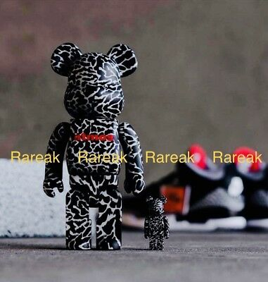$265.99 • Buy Medicom Bearbrick Atmos 400% & 100% Reverse Elephant Be@rbrick Boxset 2pc