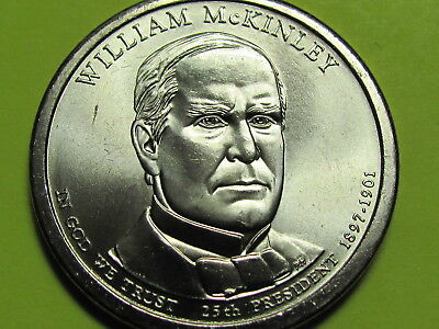 $4.95 • Buy 2013 P - William McKinley Presidential Golden Dollar Coin