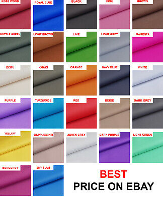 £5.99 • Buy 57 Colours!! Tough Waterproof Outdoor Canvas Fabric Material Cover Cordura Type!