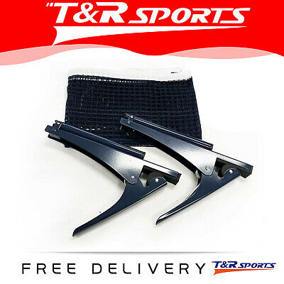 AU20.99 • Buy Table Tennis Ping Pong Clamp Net & Post Set RRP $29 Free Delivery