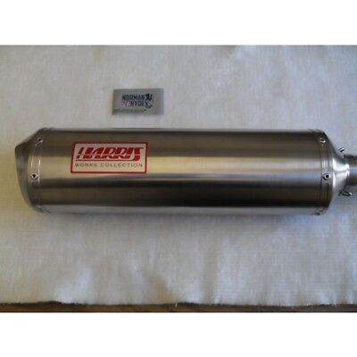 $353.79 • Buy Yamaha Yzf R6 Exhaust Harris Works Collection Slip On Road Legal 2003/05