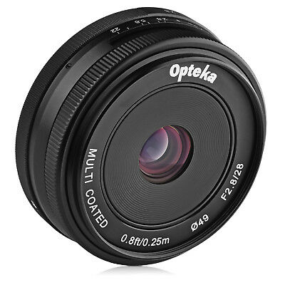 $ CDN80.34 • Buy Opteka 28mm F/2.8 Lens For Sony A6500 A6300 A6000 A5100 A5000 A3000 NEX-6 5N 5T