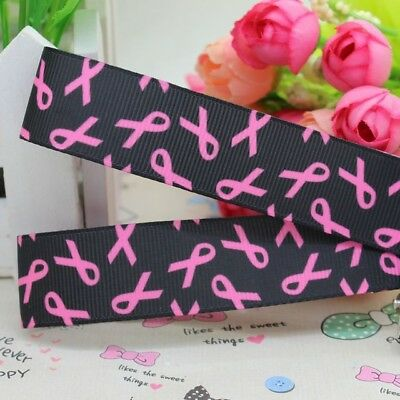 £1.49 • Buy Cancer Awareness Ribbon 7/8  Wide (22mm)....1m Only £1.49....FREE P&P