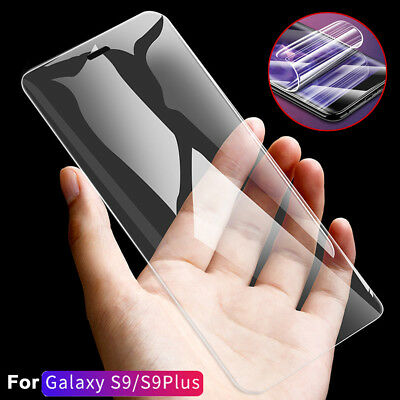 $ CDN2.65 • Buy For Samsung Galaxy S7 Edge S9 Plus 3D Curve PET Front+Rear Screen Film Protector
