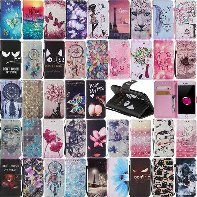 £3.42 • Buy Wristlet Leather Wallet Card Holder Phone Case Cover For IPhone Xs 8 7 6 6s Plus
