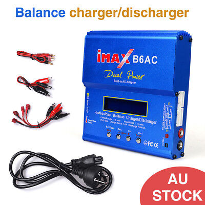 AU47.17 • Buy IMax B6AC 80W RC Lipo Lithium NiMh Digital Battery Balance Charger & Discharger