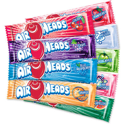 £3.99 • Buy Airheads Candy Bars - Choose Your Flavour (Cherry WaterMelon Strawberry Mystery)