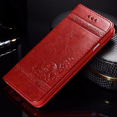 $ CDN6.33 • Buy Luxury Magnetic Flip Wallet Case Leather Phone Cover For Samsung Galaxy S9 Plus