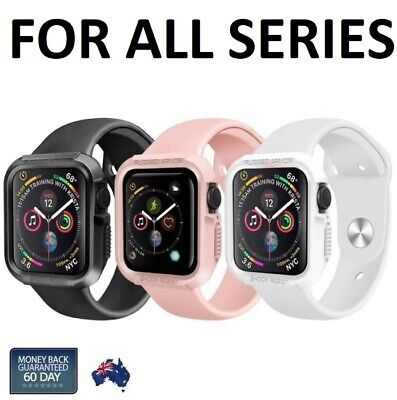 AU11.98 • Buy For Apple Watch Case, Touch Armor Cover For Series 6/5/4/3/2/1