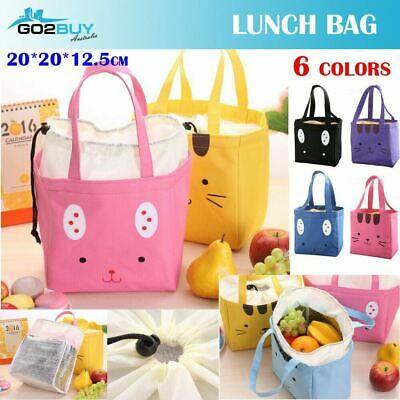 AU5.99 • Buy Portable Insulated Thermal Cooler Lunch Box Carry Tote Picnic Case Storage Bag