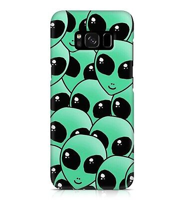£7.99 • Buy Green Alien Family Pattern Extraterrestrial Supernatural Phone Case Cover