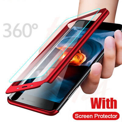 $3.79 • Buy For Xiaomi Redmi Note 9S 8T 8 7 6 Pro 360° Full Cover Hybrid Case+Tempered Glass