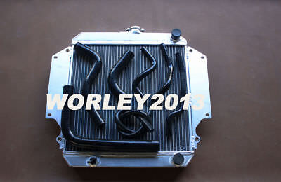 AU198 • Buy Aluminum Radiator + Black Hose For SUZUKI SIERRA 1.0 1.3 SJ410 SJ413