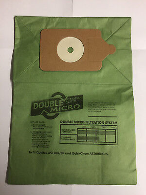 Vacuum Cleaner Double Layer Dust Bags Numatic Henry Hoover Various Quantities • 4.29£
