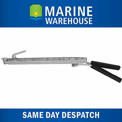 AU62.50 • Buy Outboard Motor Support Bracket W/ Rubber Handle - 450mm-775mm Redco Style 204388
