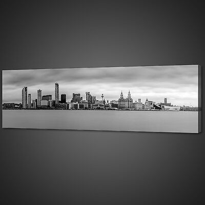 £19.59 • Buy Liverpool Merseyside Panoramic Canvas Print Picture Wall Art Variety Of Sizes