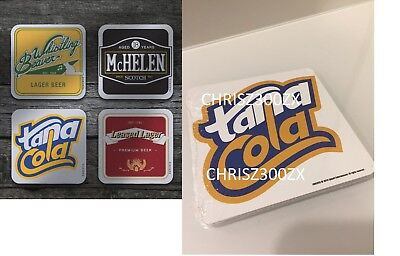 AU83.94 • Buy Far Cry 5 Hope County PS4 XBOX Beer Drink Coaster Mat X4 SET Tana Cola McHELEN