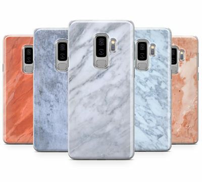 £4.95 • Buy Faux Marble Effect Design Mobile Phone Case Cover For Samsung Galaxy S9 Plus
