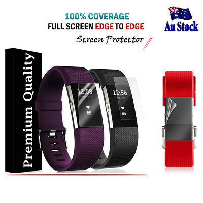AU3.49 • Buy 2x 3X 5X For Fitbit Charge 3/ Charge 2 Compact Full Screen Protector Film Guard