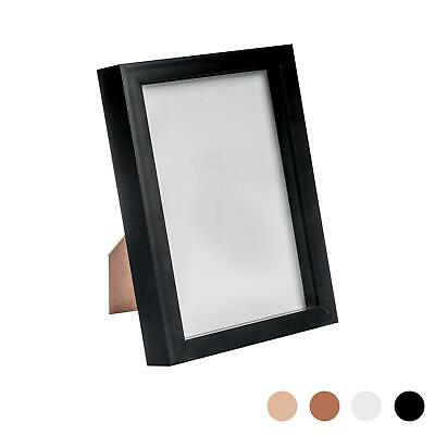 Box Picture Frame Deep 3D Photo Display 6x8 Inch Standing Hanging Black • 8.99£