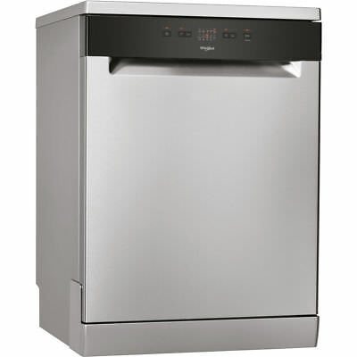 View Details Whirlpool WFE2B19X Full Size Stainless Steel Freestanding 13 Place Dishwasher • 358.00£