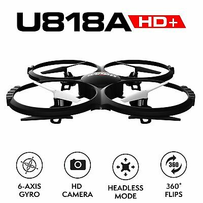 AU196.90 • Buy Force1 UDI U818A Camera Drone For Kids - HD Drone With Camera For Beginners