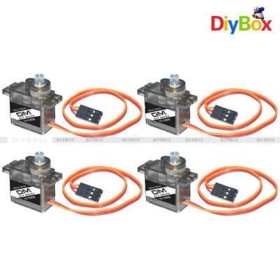 AU9.79 • Buy 4PCS MG90S Micro Metal Gear 9g Servo For RC Plane Helicopter Boat Car