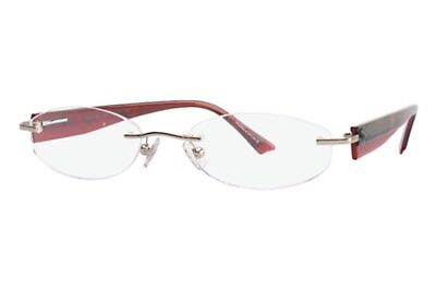 078153dc4d5 New Marchon Airlock 800 55 057 Red Eyeglasses Rx Frame 50-18-135