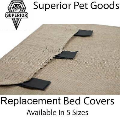 AU18.49 • Buy Superior Pet Goods Hessian Replacement Dog Bed Cover In XS,S,M,L & Jumbo