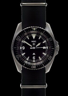 $ CDN362.73 • Buy MWC 1000ft WR 12 Hour Dial Military Divers Watch In Steel Case (Automatic)