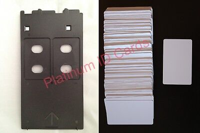 £9.82 • Buy PVC ID Card Tray For Various Canon IP/MP/MG Printers Starter Set