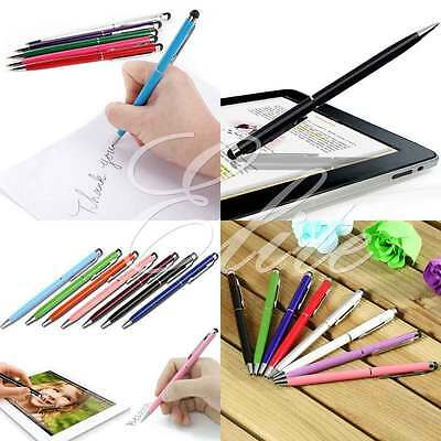 PRO Stylus With Ball Point Pen Ultra Smooth Tip For IPhone Tablets IPad Galaxy S • 0.99£