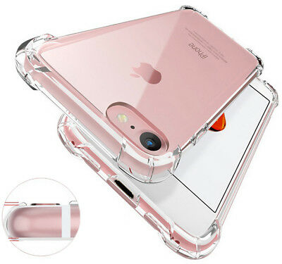AU4.45 • Buy Shockproof Tough Gel Clear Case Cover For Apple IPhone 5 5s SE 6 6s 7 8 Plus 11