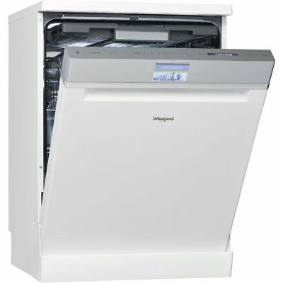 View Details Whirlpool WFF4033DLTG 60cm 14 Place White Freestanding Dishwasher - 5 Year Gntee • 799.00£