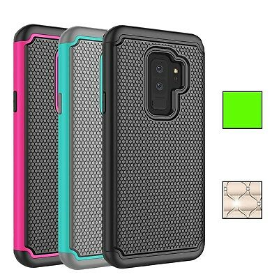 $ CDN6.79 • Buy Fits Samsung Galaxy S9 Case Rugged Impact Hybrid Dual Layer Shockproof Cover